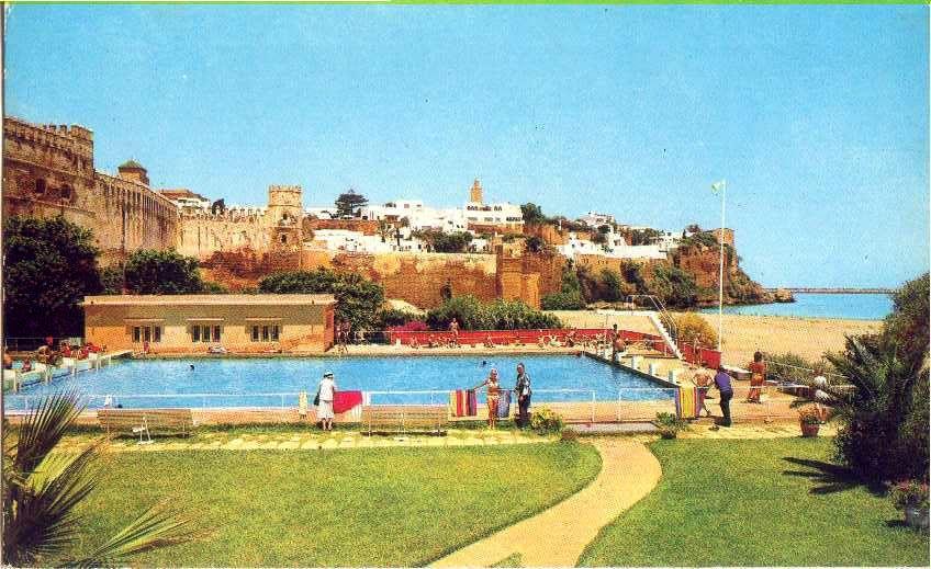 Rabat nos plages nos baignades souvenirs des annees 1950 for Club rabat piscine