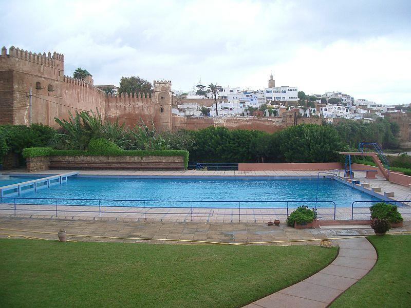 Rabat nos plages nos baignades souvenirs des annees 1950 for Construction piscine rabat