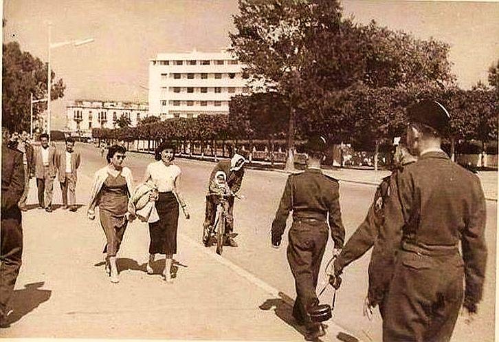 Rabat Rue Maurice Pascouet années 1954-55 edit.jpg