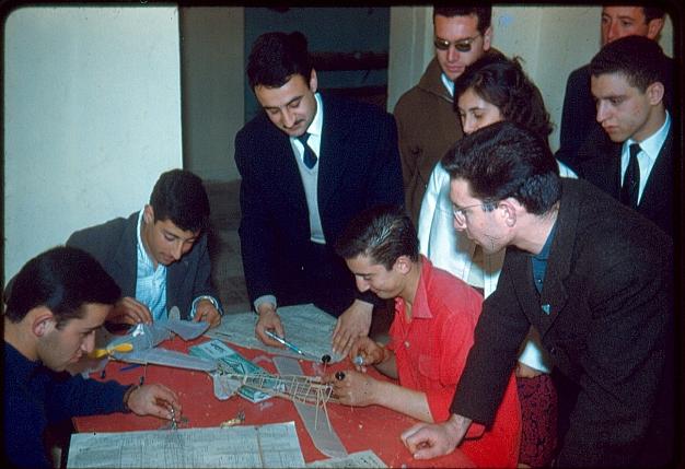 Atelier de travail, local EIM Rabat, Simon Ruimy et cadets.jpg