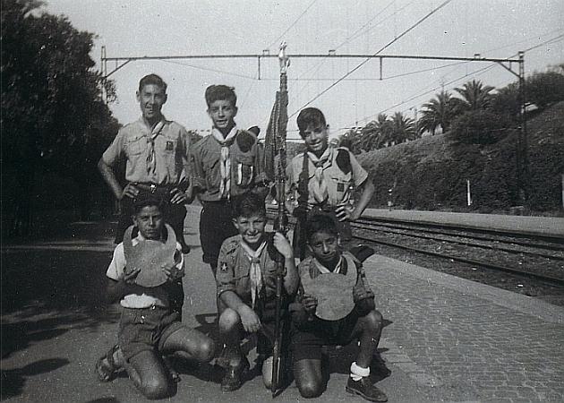 Gare de Rabat EIM, Jacky Amiel et mes frères , amis de rabat 1.jpg