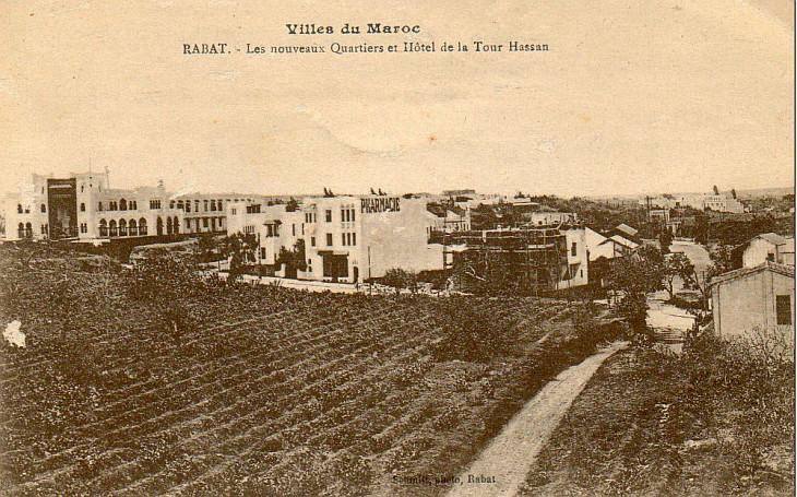 MAROC - RABAT - Les nouveaux Quartiers et Hôtel de la Tour Hassan 5.jpg