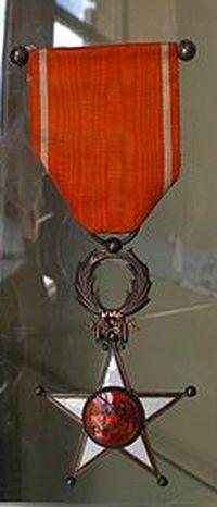 Medaille de l'Ordre du Ouissam Alaouite au Maroc.jpg