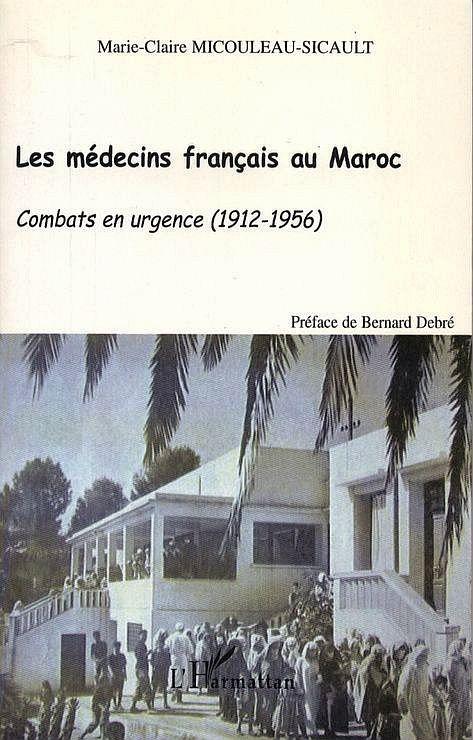Les médecins français au Maroc, couverture.jpg