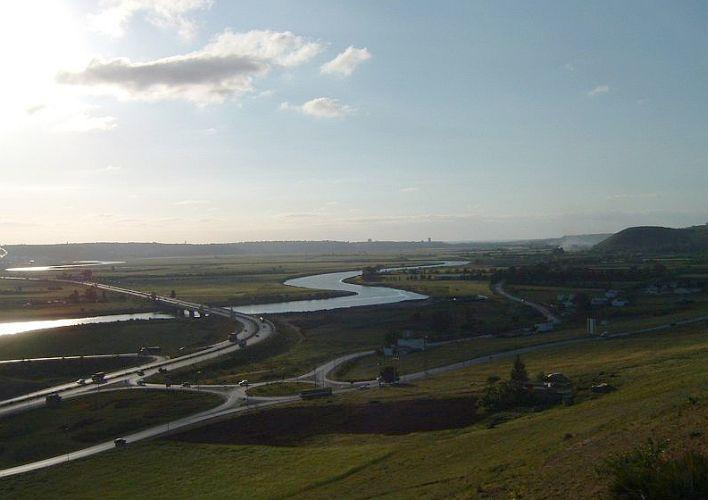 Le fleuve Bou Regreg et ses meandres en amont du CVAR.jpg