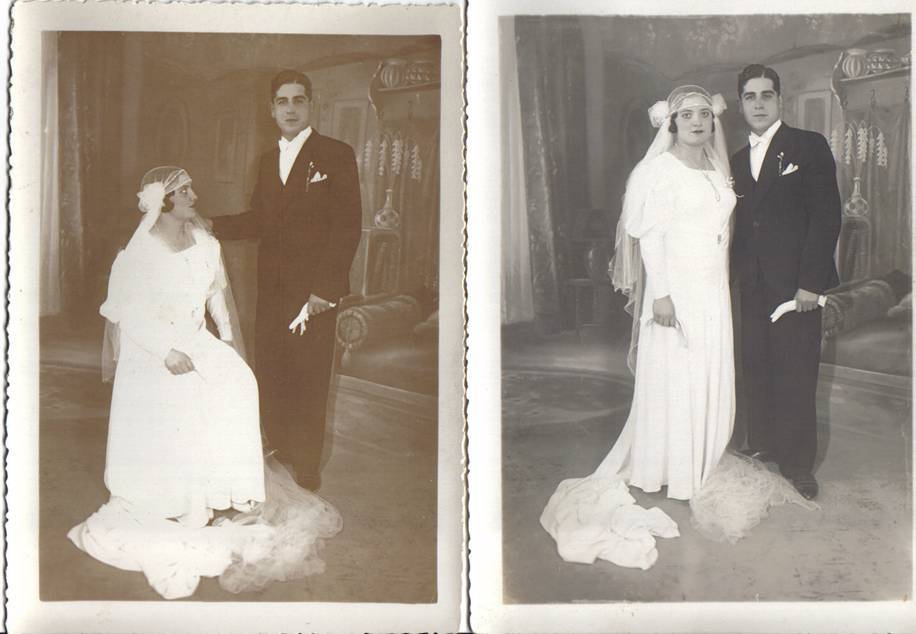 David et Hassiba Bensibon _ Mariage 1930.jpg