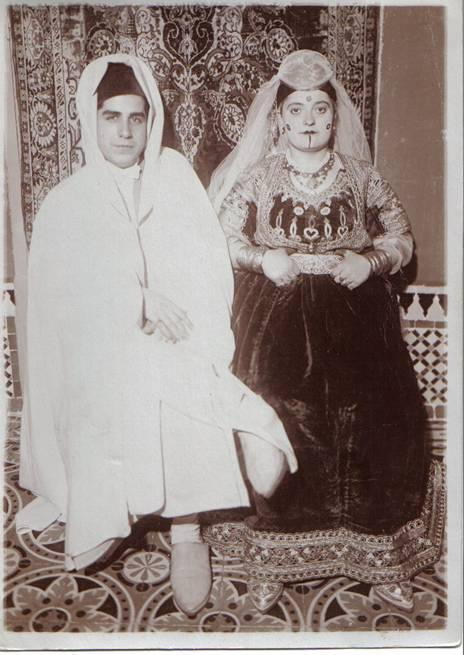 David et Hassiba Bensibon _ Henne 1930.jpg