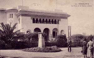 Casablanca, La grande Poste et le cadran Solaire..jpg